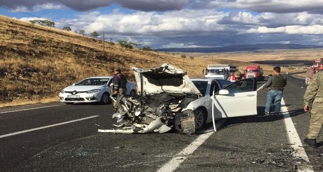 Elazığ'daki trafik kazası: 1 kişi hayatını kaybetti