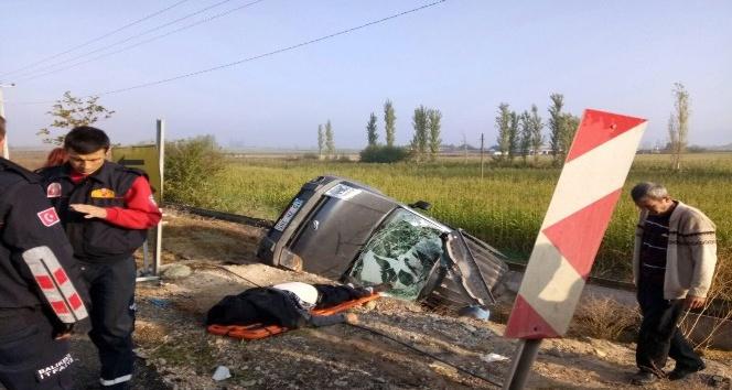 Balıkesir'de trafik kazası: 1 ölü, 1 yaralı