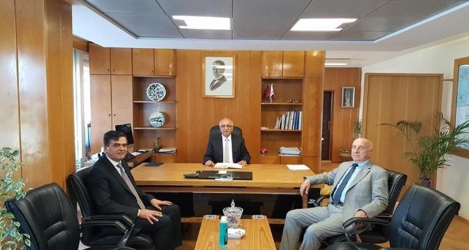 Başkan Yalçın, Karayolları bölge müdürleriyle bir araya geldi