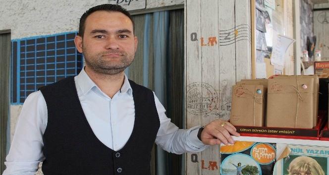 Kayseri'den Uysal Bakkal'a kitap desteği