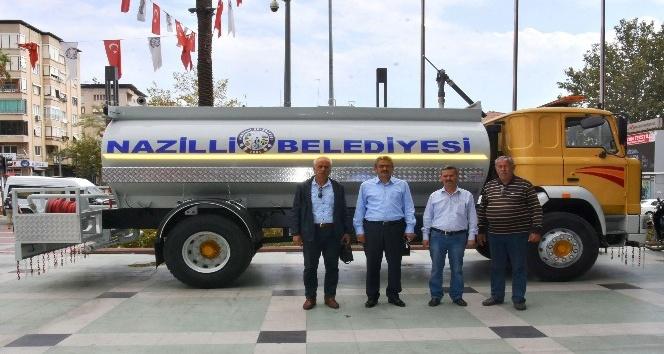 Nazilli Belediyesi araç parkına bir yenisini daha ekledi