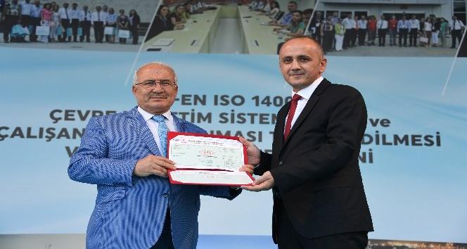 TSE'den Büyükşehir'e çevre yönetim sistemi belgesi