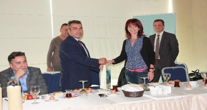 Bulgar gazeteciler Edirne'de