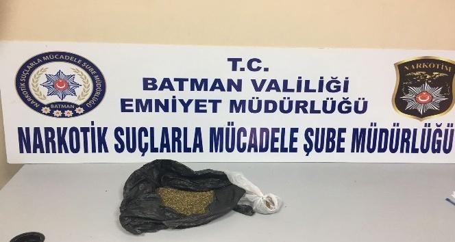 Batman'da 252 gram uyuşturucu ele geçirildi
