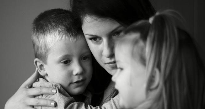 Evdeki tartışmalar çocuğu etkiliyor
