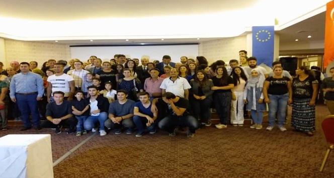 Üniversiteliler, iyi uygulama gezisine için Aydın'da