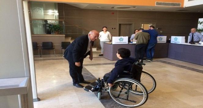 Minik Aslan'dan Başkan Eşkinat'a teşekkür ziyareti