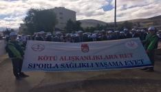 Bayburtta dünya yürüyüş günü etkinliği
