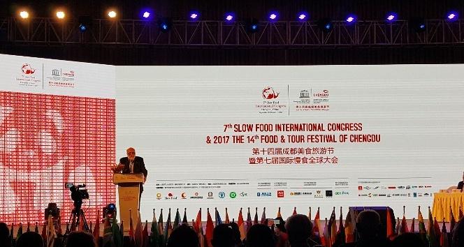 Başkan Soyer, Uluslararası Slowfood Kongresi'nde