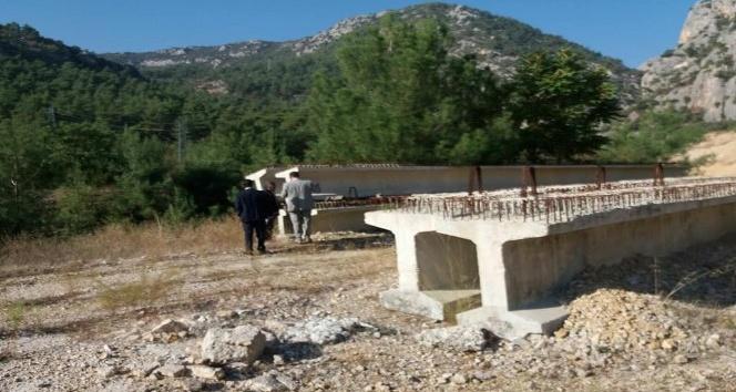 Vezirhan beldesine yapılacak köprü tarımcıları rahatlatacak