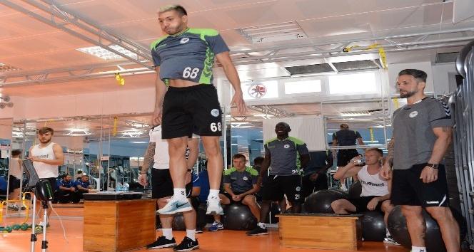 Atiker Konyaspor'a optimum kuvvet testi yapıldı