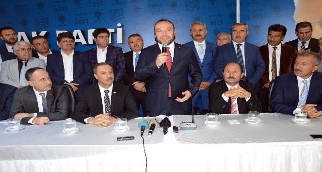 AK Parti Kırıkkale'de ikinci Nuh Dağdelen dönemi