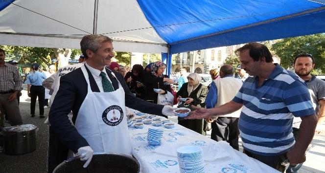 Şahinbey Belediyesi 500 bin kişiye aşure ikram edecek