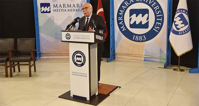 Nabi Avcı, Marmara Üniversitesi İletişim Fakültesinin açılış dersini verdi