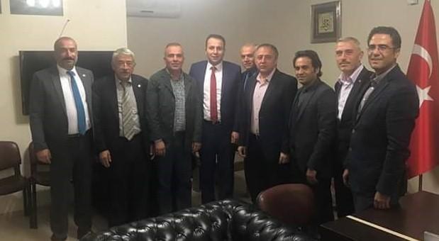 İl Genel Meclisi Başkanı ve üyeleri, AK Parti İl Başkanını ziyaret etti