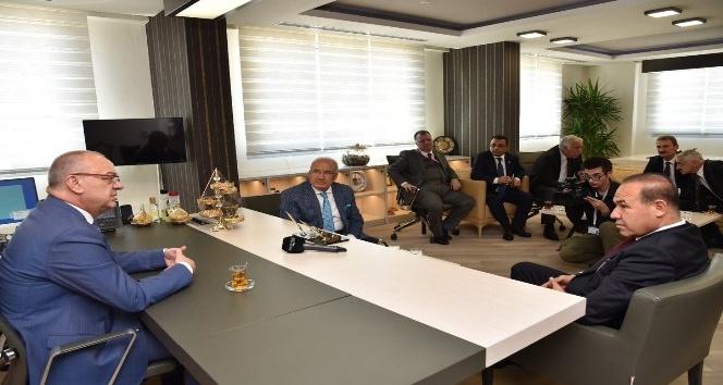 MHP'li Büyükşehir Belediye Başkanları bir araya geldi