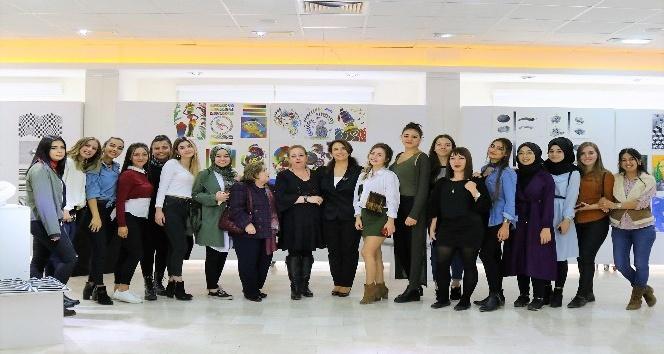 Temel Sanat Eğitimi Sergisi STMF'de düzenlendi