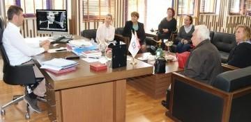Kent Konseyi Yönetimi Başkan Akay'a bilgi verdi