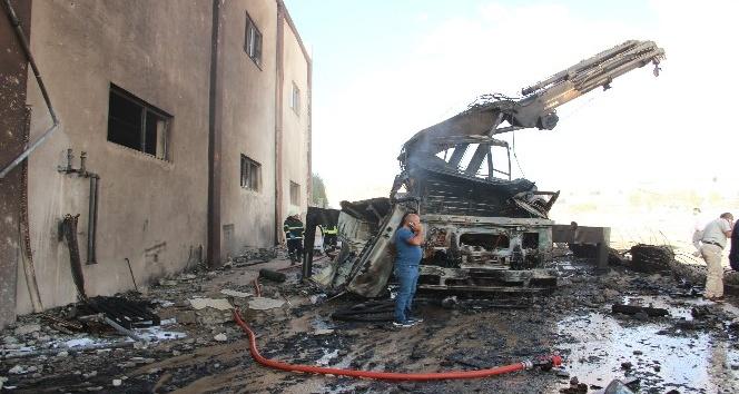 Batman OSB'de yakıt tankı patladı: 11 yaralı