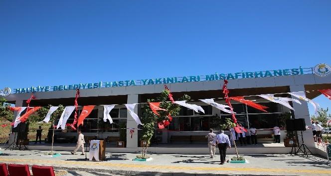 Üniversite hastanesine yapılan misafirhanenin açılışı yapıldı