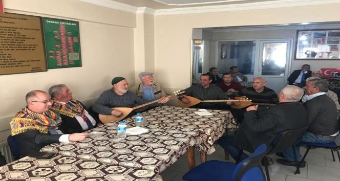 Kaymakam Yaman, Ertuğrulgazi Derneği'ni ziyaret etti