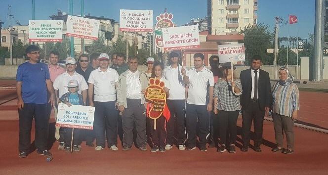 Adıyaman'da Dünya Yürüyüş Günü düzenlendi