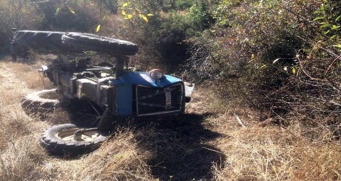 Kula'da traktör kazası: 1 ölü