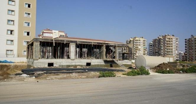 Altınşehir Mahallesi taziye evi inşaatı hızla yükseliyor