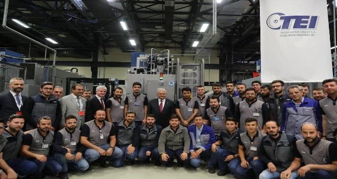 Başbakan Binali Yıldırım milli projeleri inceledi