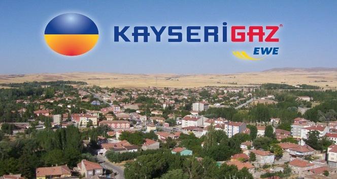 Bünyan'da doğalgaz abone sayısı gün geçtikçe artıyor