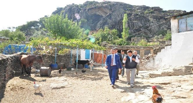 Kaymakam Arslan, Çukur'u ziyaret etti