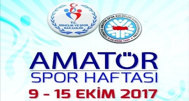 Aydın'da Amatör Spor Haftası etkinlikleri başlıyor