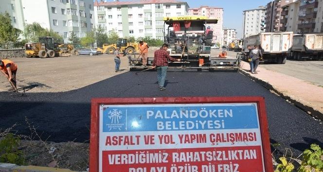 Belediye Başkanı Bulutlar, asfalt çalışmalarını inceledi