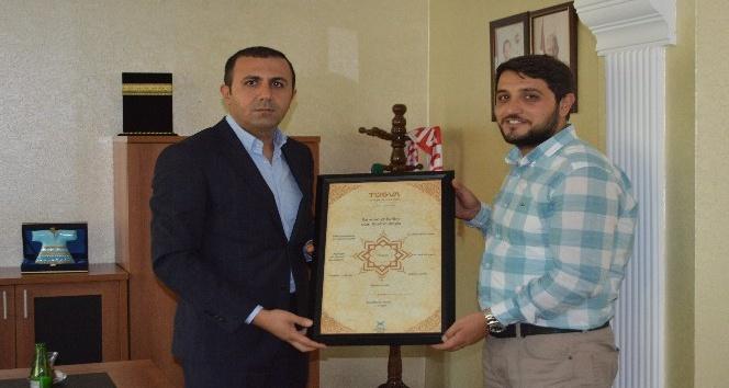 TÜGVA, Başkan Bedirhanoğlu'na çalışmalarını anlattı