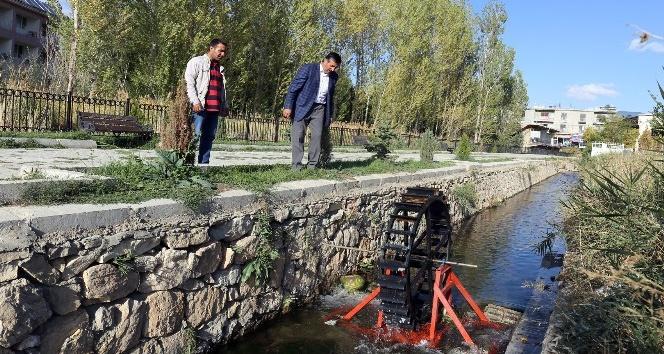 Parkın elektriği sudan elde edilecek