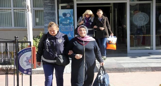 FETÖ'den gözaltına alınan 8'i kadın 13 şüpheli adliyede