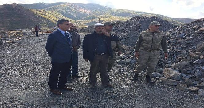 Kaymakam Özkan'dan Karakol ziyaretleri