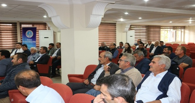 Tarıma Dayalı Ekonomik Yatırımların Desteklenmesi Tanıtım toplantısı gerçekleştirildi