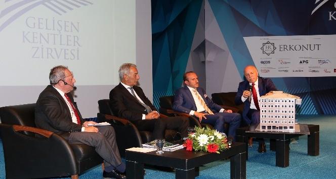 Gelişen Kentler Zirvesi'nde Erzurum'un potansiyeli ve geleceği anlatıldı