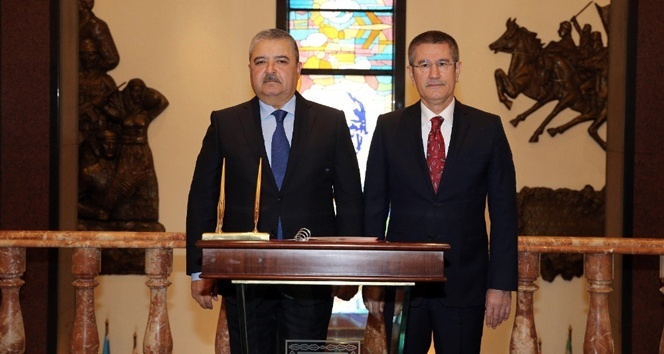Bakan Canikli Özbek mevkidaşıyla görüştü