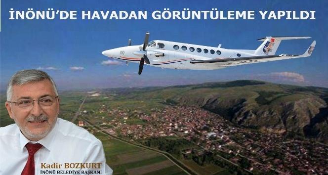 İnönü'de havadan görüntüleme yapıldı