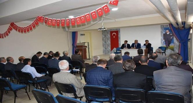 Yenişehir'de eğitim toplantısı