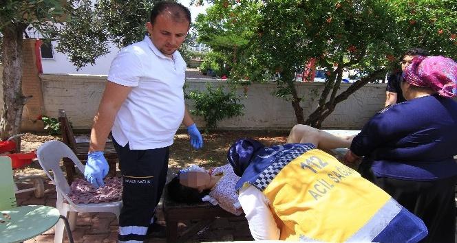 Kaza kurşunuyla yaralanan kadın polise otomobil çarptı