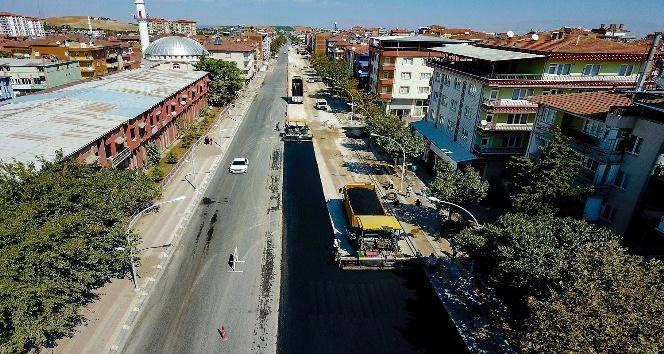 Recai Kutan Caddesinin çehresi değişti