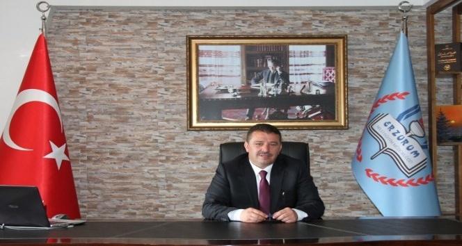 Erzurum'da Halk günü gibi öğretmen günü