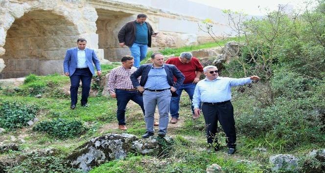 2 bin yıllık Taşköprü restore edildi