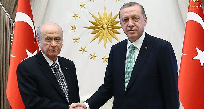Bahçeli'nin teklifine Erdoğan'dan ilk cevap! Yarın saat 13.30'da...