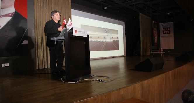 Mimar Han Tümertekin ile AGÜ'de Söyleşi