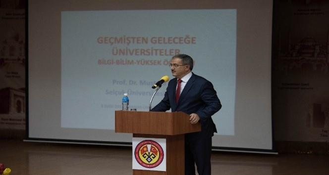Kırgızistan Türkiye Manas Üniversitesi'nde ilk ders Rektör Şahin'den