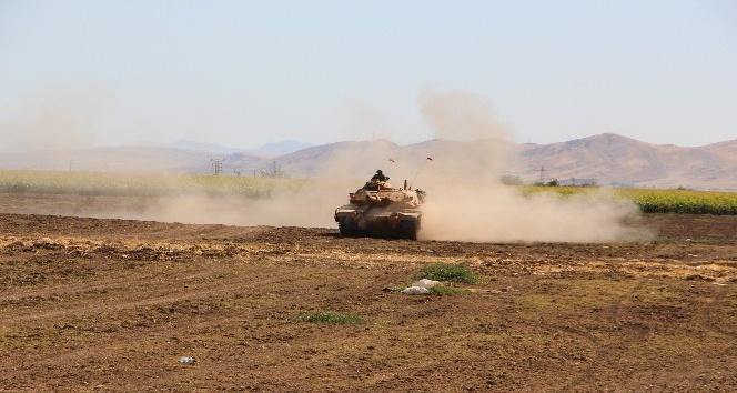 Türkiye ve Irak askerlerinin tatbikatı sürüyor